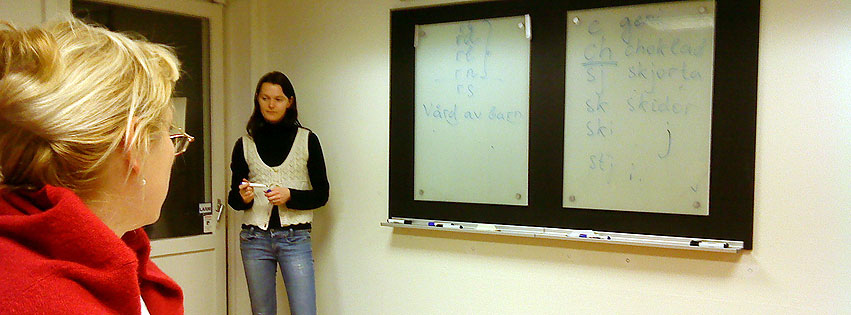Start för kurs i svensk fonetik på ryska