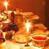 Skruvkafé, tema rysk, ukrainsk, vitrysk och svensk mat