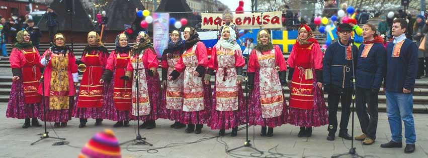 Skruvs sånggrupp Slávenka deltar i slavisk kulturfestival