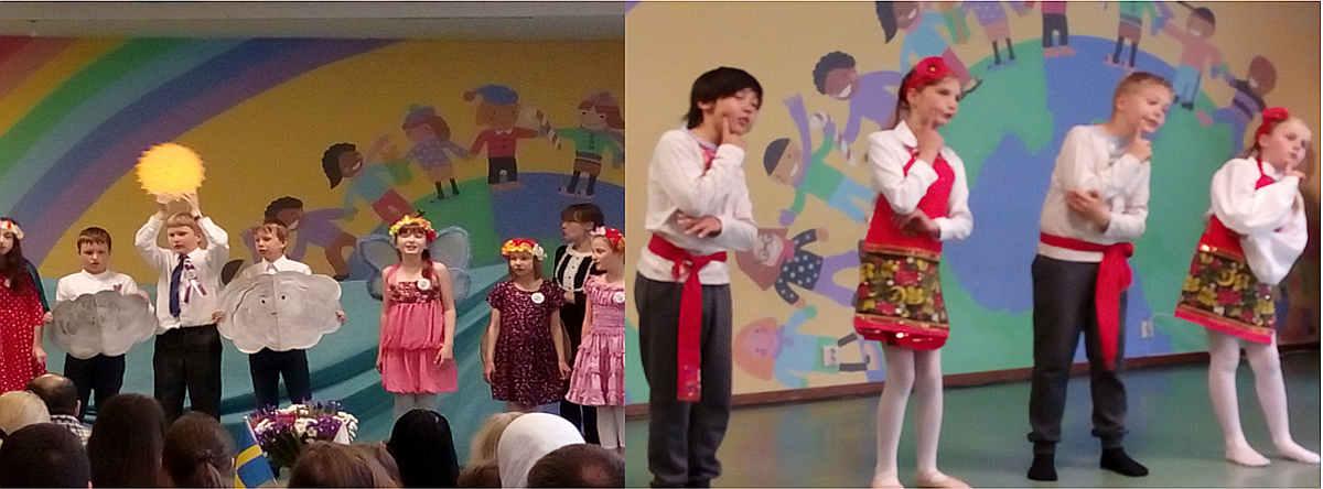 Teater- och dansgrupperna på Skruvs barnverksamhet deltar i festivalen Vi är unga