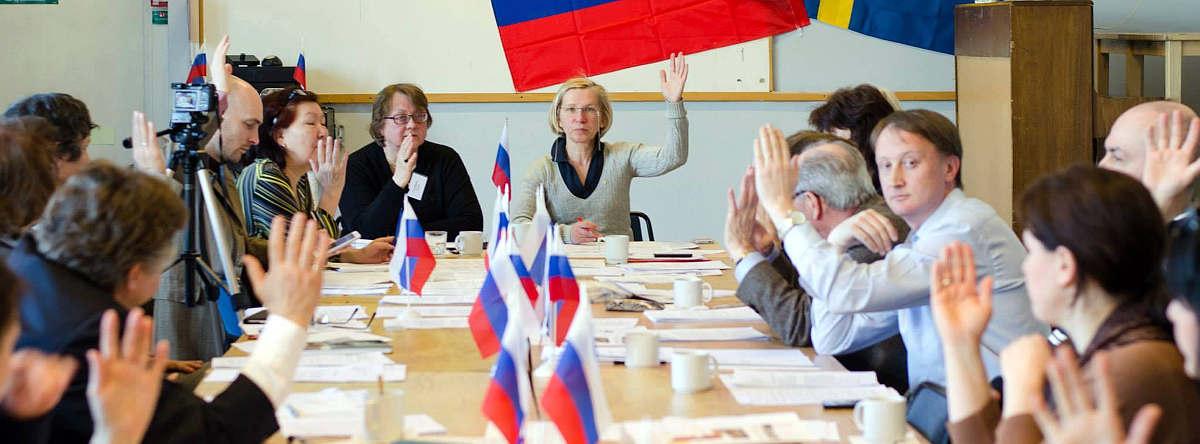 Skruv deltar i årsmöte i Ryska riksförbundet i Sverige