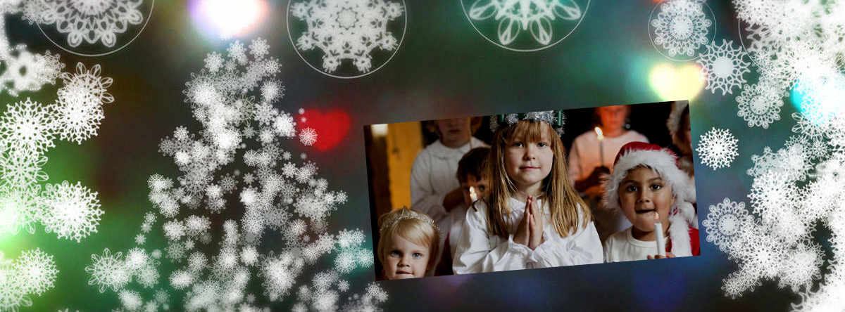 Skruvkafé, tema vinterns högtider